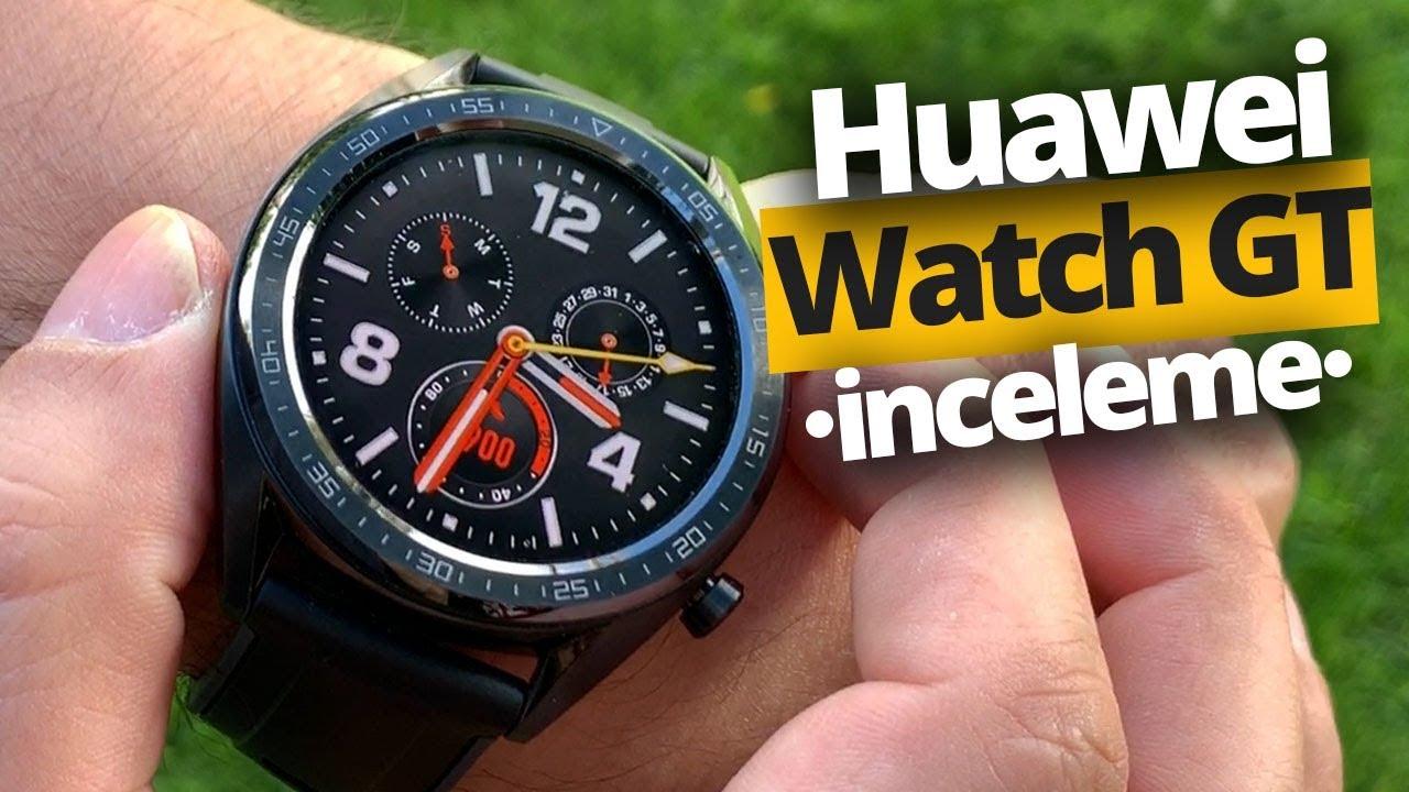 Huawei Watch GT inceleme - Şarjı 30 gün giden akıllı saat!