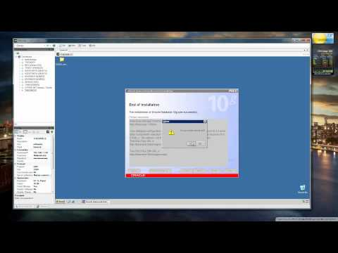 Oracle 10g Installation (Server and Client).mp4