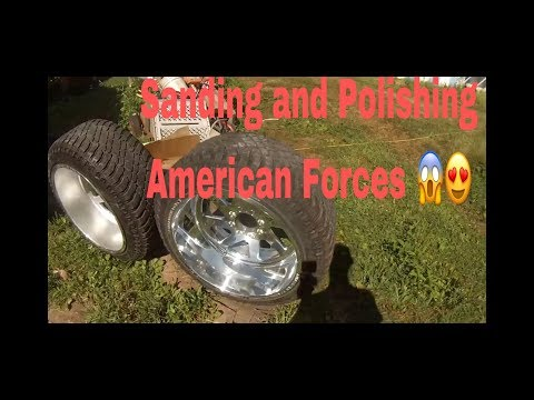 Making Mirrors! How to Sand and Polish American Forces