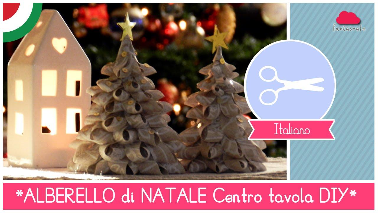 Centrotavola Natalizi Lavoretti.Tutorial Diy Natale Centrotavola Natalizio Alberelli Di Stoffa