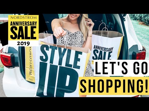 NORDSTROM ANNIVERSARY SALE 2019   COME SHOPPING WITH ME