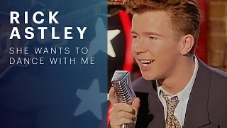 Rick Astley - She Wants To Dance With Me (Official Music Video)