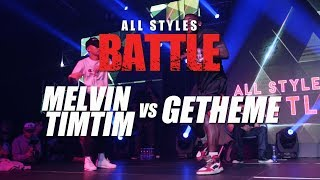 Melvin Timtim vs Getheme  | All Styles Battle | Fair Play Dance Camp 2018