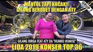 Lida dangdut indosiar(9 maret 2019) wowww..kocak ngocok perut ngakak atik duet gilang!!!