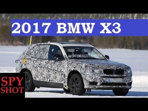 2017 BMW X3 Spy Shot ! - YouTube