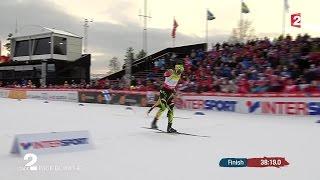 Le sprint victorieux de Jason Lamy Chappuis