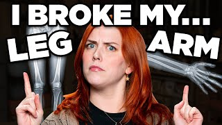 Who Has The Worst Broken Bone Story? (MATCH GAME)