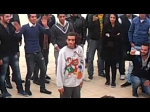 Dancing at Hashemite University