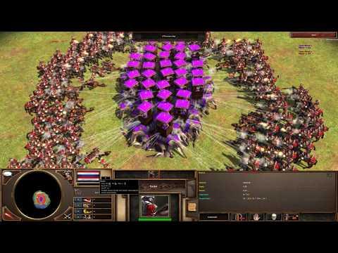 Age of Empires 3 - 250 Ruyter Vs 50 Howdah 4K - YouTube