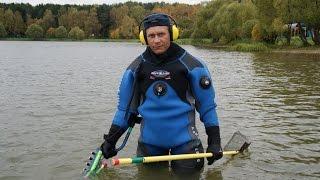 Подводный поиск в воде с металлоискателем Excalibur. Как успешно вести поиск на пляже.(Нюансы поиска на пляже с подводным Экскалибуром. Какое оборудование применяется для пляжного поиска в..., 2016-06-09T01:13:06.000Z)