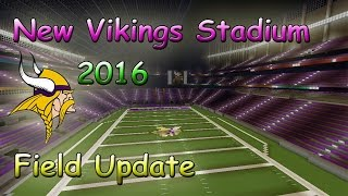 New Minnesota Vikings Stadium 2016 Minecraft Football Stadium(Update Video)