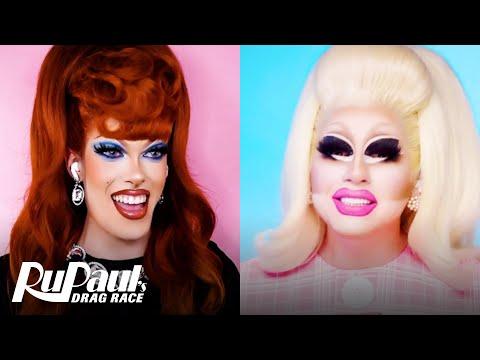 The Pit Stop S13 E13   Trixie Mattel & Gigi Goode Get Shrunk   RuPaul's Drag Race