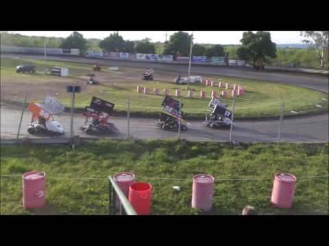 Open Intermediate @ Cycleland Speedway 4-29-17