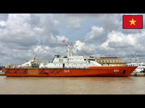 Hải quân Việt Nam Vừa Được nhận tàu tuần Tra có sàn đậu trực thăng Hiện Đại