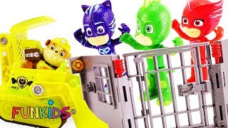 Paw Patrol Mission Rescue from Romeo and Luna Girl