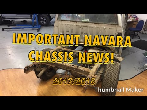 IMPORTANT Latest Nissan Navara Chassis News + Updates