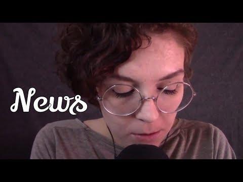 ASMR [GERMAN] Zeitung lesen | Inaudible whispers | Layered [DEUTSCH]