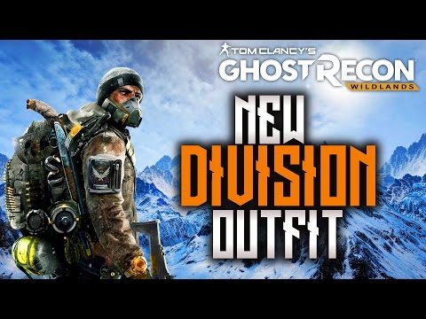 NEW DIVISION OUTFIT & WEAPON (GHOST RECON WILDLANDS)