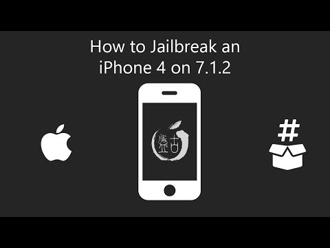 How To Jailbreak An IPhone 4 On 7.1.2