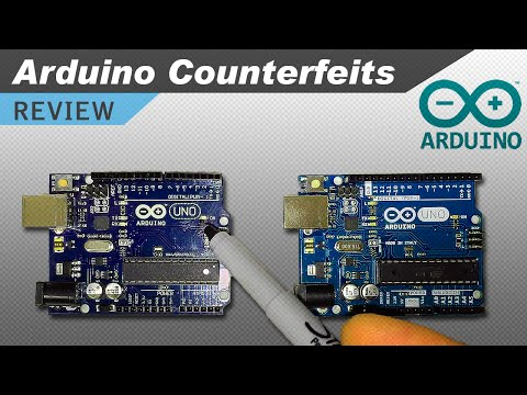 Real Vs Fake Arduino Test