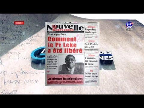 REVUE DE PRESSE - Mardi 20 Mars 2018 - EQUINOXE TV