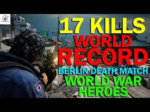 17 kill super play World War Heroes 2: WW2 FPS  