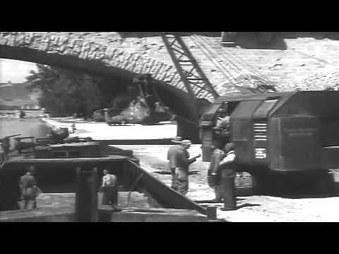 WW2 Reconstruction Of Würzburg, Germany, 05/28/1946 (full)