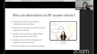 AE Live Teacher Development Event 2.1: Dynamic Ways to Check Answers & Share Responses