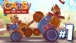 Battle Cats! - C.A.T.S Crash Arena Turbo Stars | Ep 1