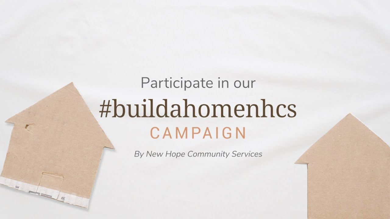 #buildahomenhcs Campaign | Helping the Displaced Individuals & Families in Singapore