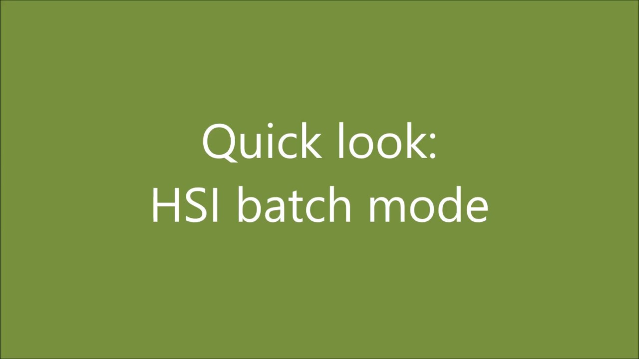 Managing files with HSI | Computational Information Systems Laboratory