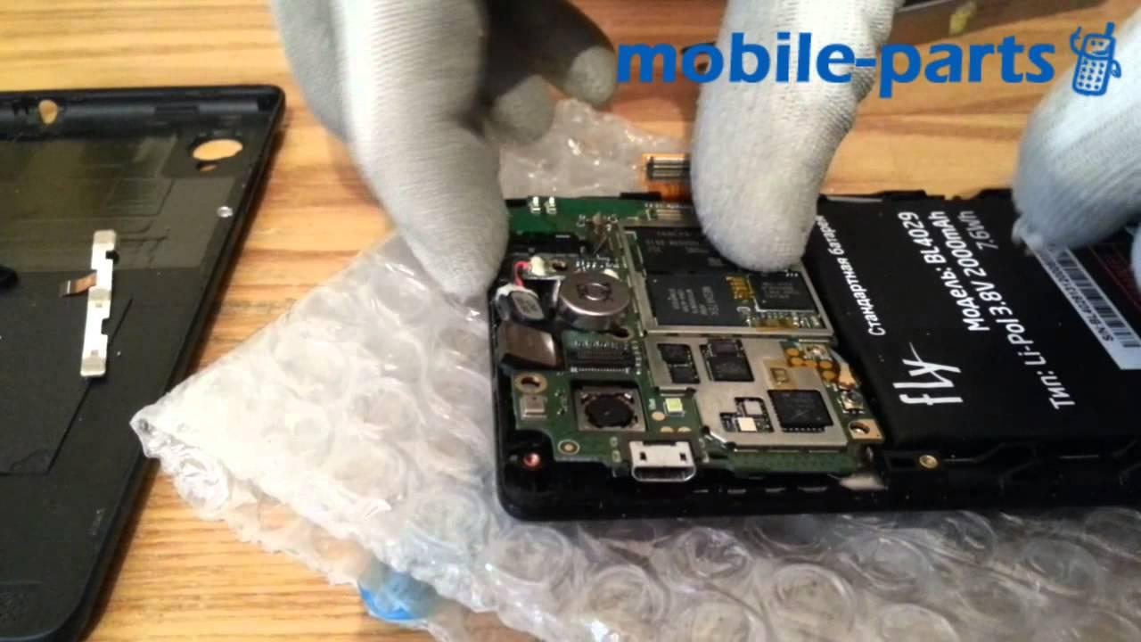 Сенсорный экран для Fly IQ 4405 - YouTube