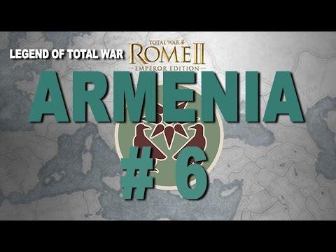 Imperator Augustus Campaign: Rome II - Armenia Part 6
