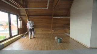 PVC vloer leggen Stap 3: afwerking van de PVC vloer | Knulst PVC vloeren