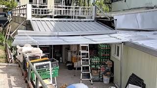 샌드위치지붕판넬로교체및연장작업(010  9469  14…