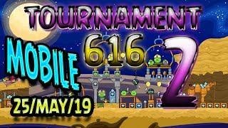 Angry Birds Friends Level 2 MOBILE Tournament 616 Highscore POWER-UP walkthrough #AngryBirdsFriends