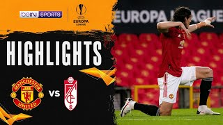 曼聯 2:0 格拉納達 | Europa League 20/21 Match Highlights HK