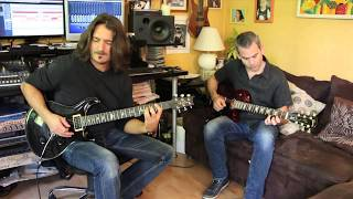 "AC/DC ""Hard as a rock"" cover guitare complete"