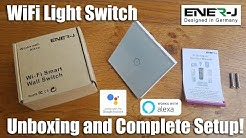 ENER-J WiFi Smart Light Switch works with Alexa and Google [Hands on Review and Test]