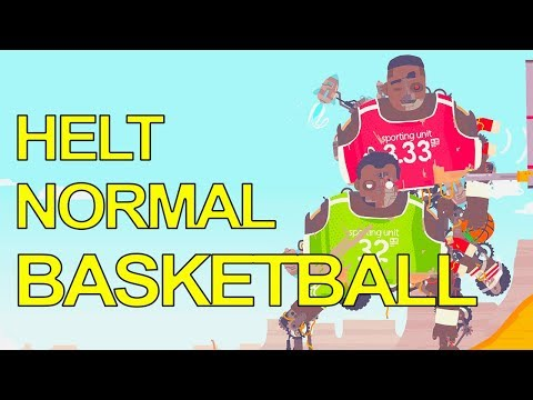 HELT NORMALT BASKETBALL SPIL - Regular Human Basketball [Dansk]
