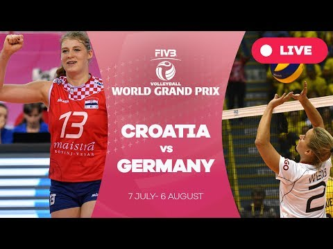 Croatia v Germany - Group 2: 2017 FIVB Volleyball World Grand Prix