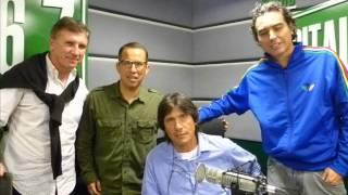 ENTREVISTA CON ANGEL COMIZZO EN MAS DEPORTES RADIO CAPITAL
