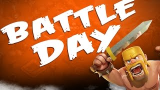 Clash of Clans Clan War Tips! Clash Off 3 Battle Day!