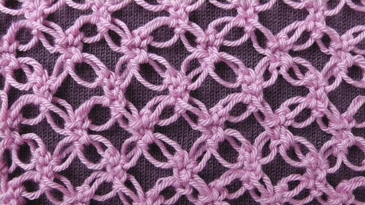 соломоновы петли или соломонов узел Solomons Knot ажурный узор