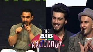 Aamir Khan REACTS On AIB ROAST
