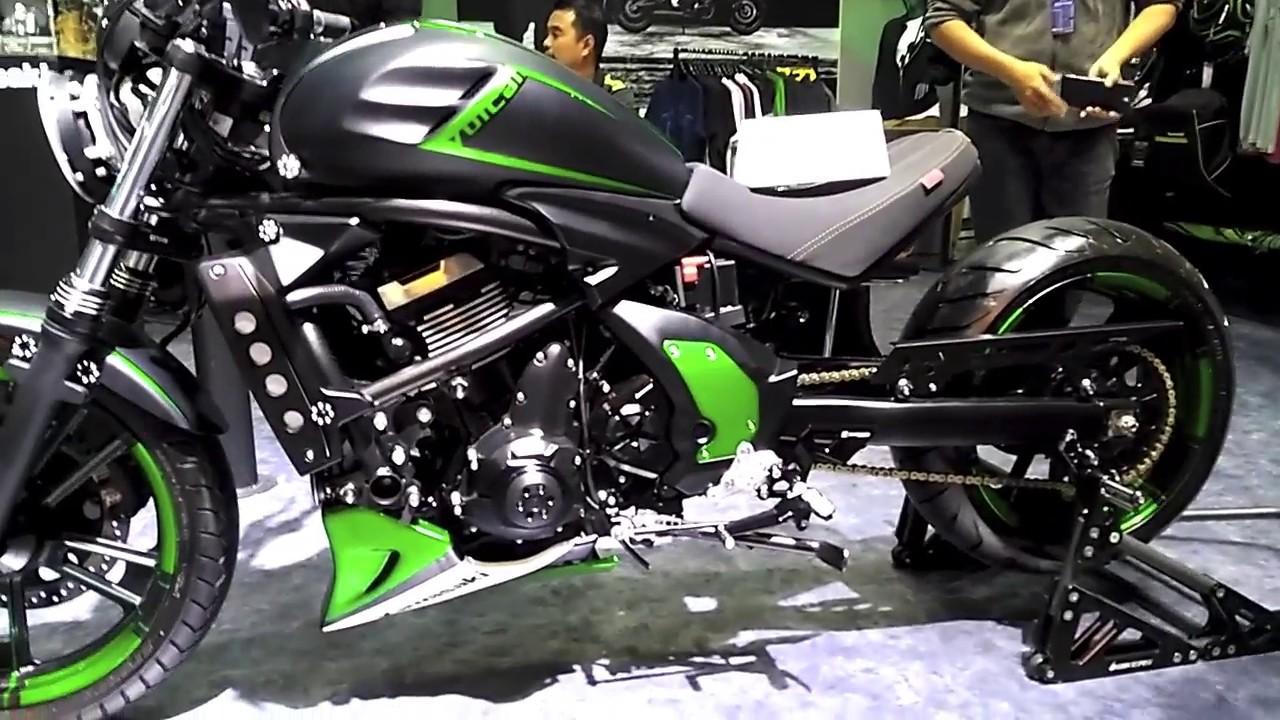 Kawasaki Vulcan S Custom Bangkok Motorbike Show Youtube