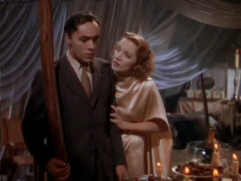 Garden of Allah with Marlene Dietrich and Charles Boyer
