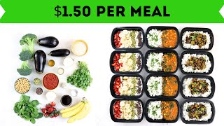 20 Meals for $30 in 60 Minutes