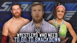 5 wwe wrestlers who need to be on smackdown live