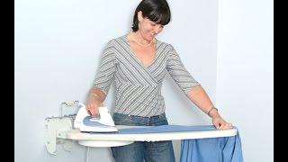 Wall Mounted Ironing Board Compact Size